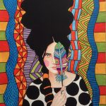 Hülya Özdemir ritrae le donne nei suoi acquerelli | Collater.al 8