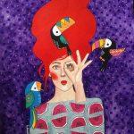 Hülya Özdemir ritrae le donne nei suoi acquerelli | Collater.al9