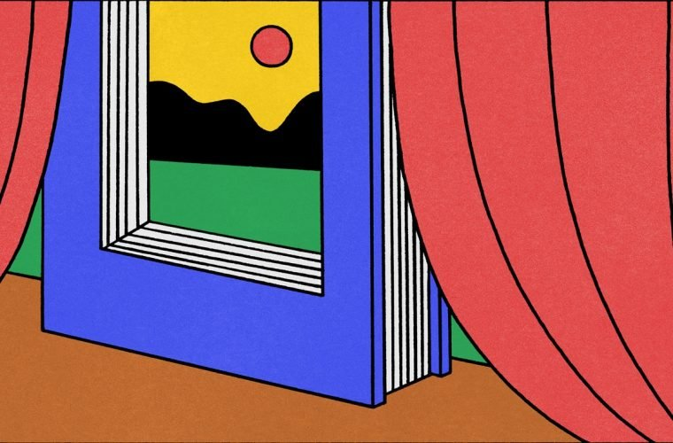 Seb Agresti's colorful minimal surrealism