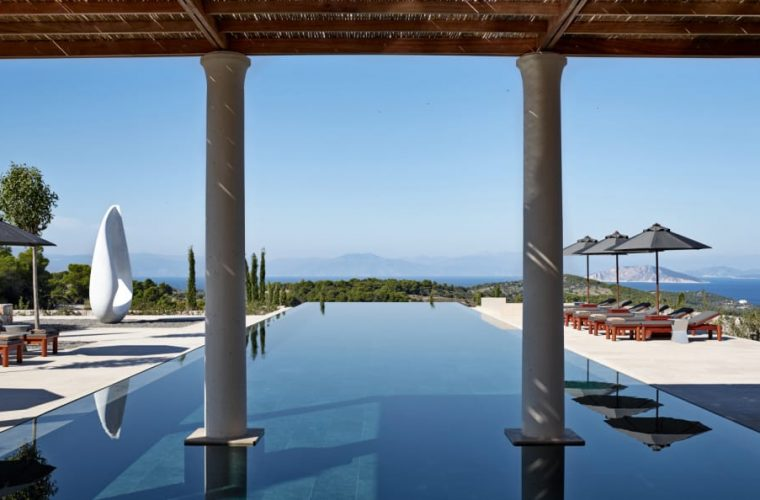 Amanzoe luxury hotel is the Greek paradise