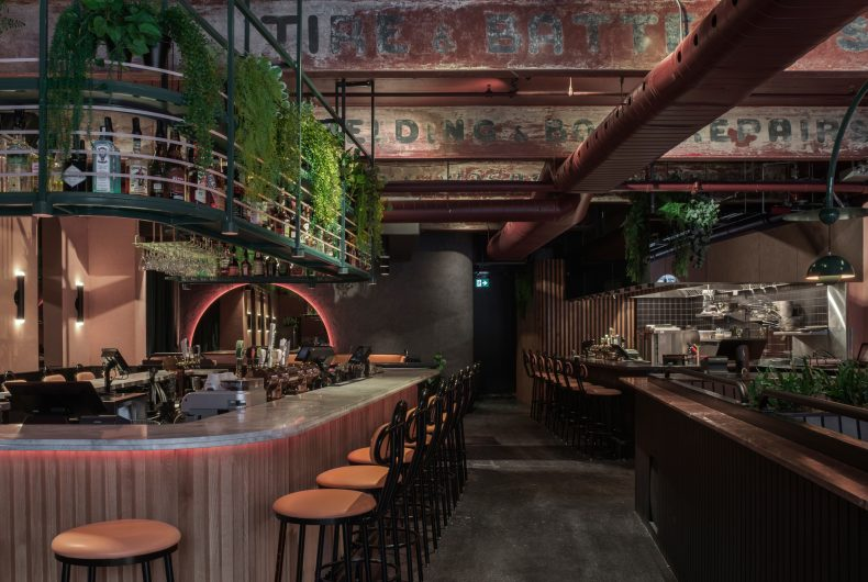 Jack Rose, the neo-grunge restaurant in Montreal