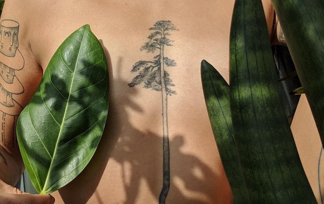 Jess Chen, la natura diventa un tatuaggio