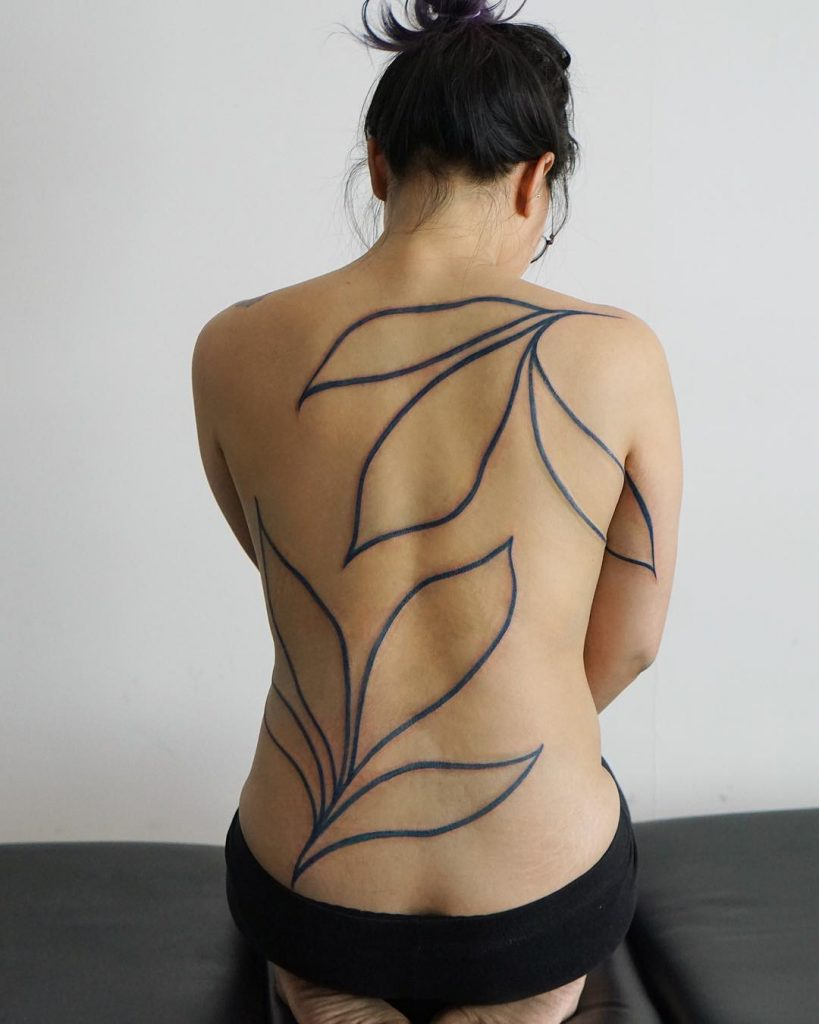 Jess Chen, when nature becomes a tattoo | Collater.al