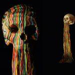 Jim Skull realizza sculture con fili e perline   Collater.al 7