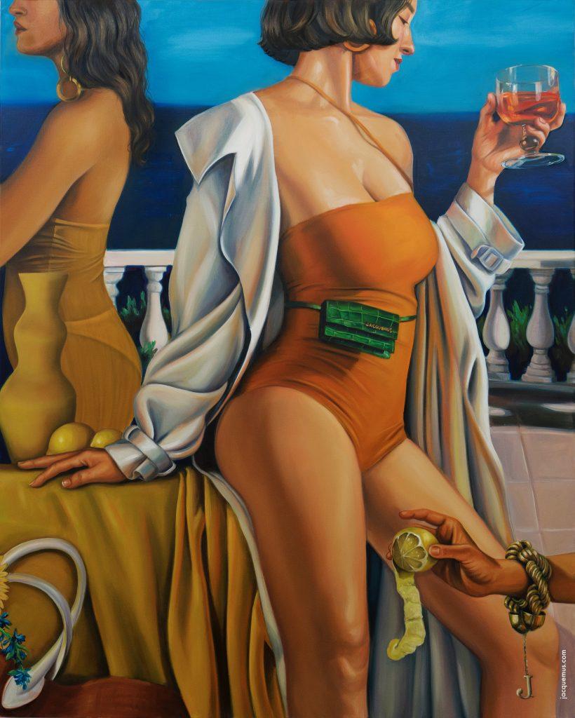 La Riviera, la nuova campagna adv di Simon Porte Jacquemus | Collater.al