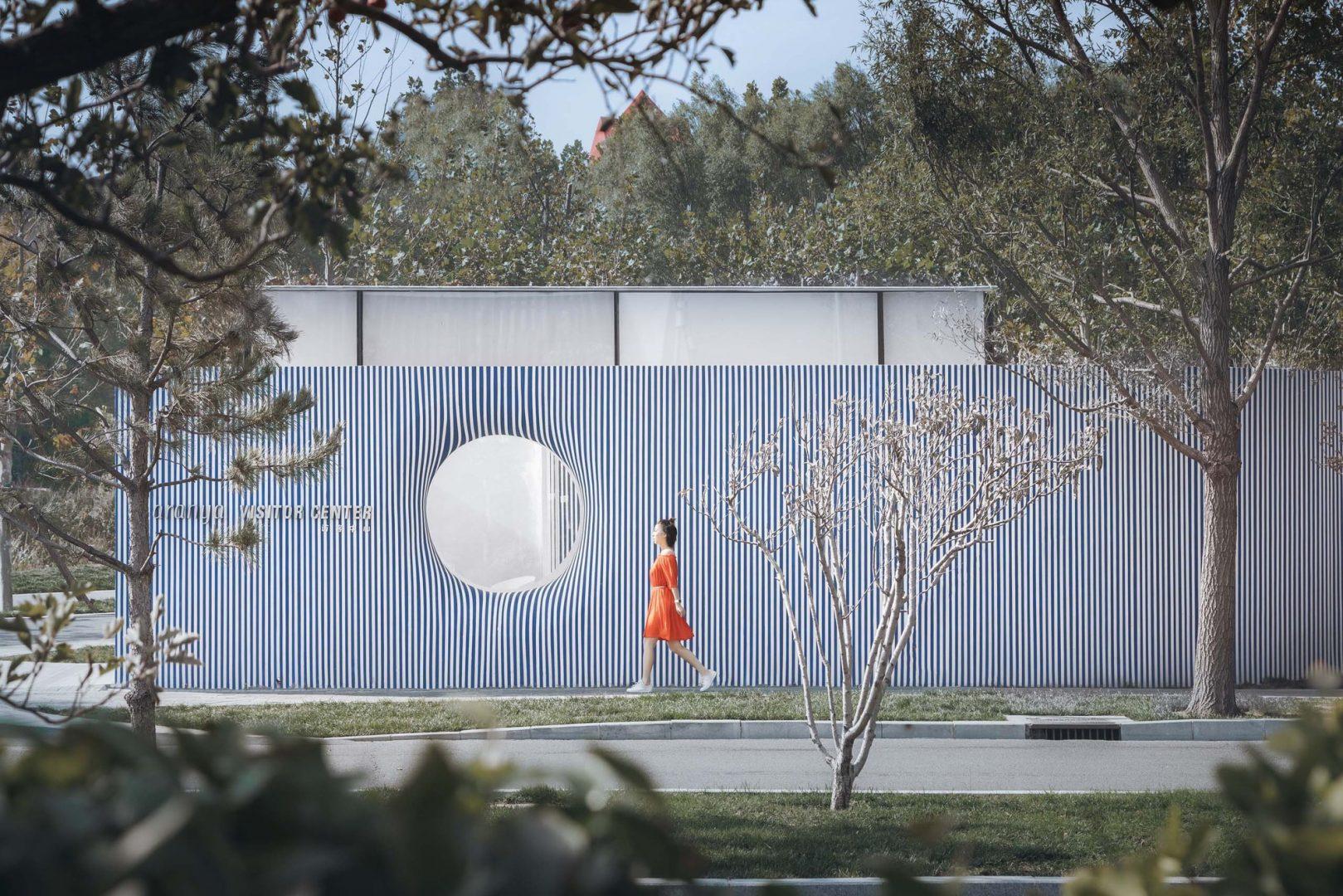 La casa a strisce del Wutopia Lab in Cina