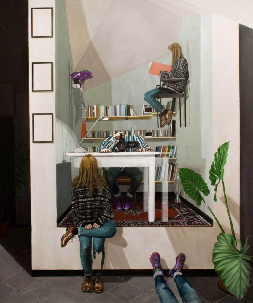 La percezione dello spazio nei lavori di Dario Maglionico | Collater.al