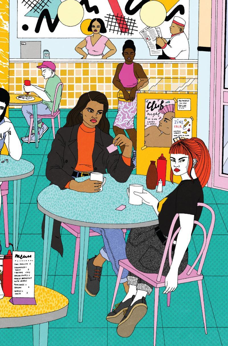Laura Callaghan realizza illustrazioni dal mood anni '80 e '90 | Collater.al