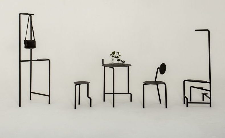 Legs, a furniture collection by Pierre-Emmanuel Vandeputte