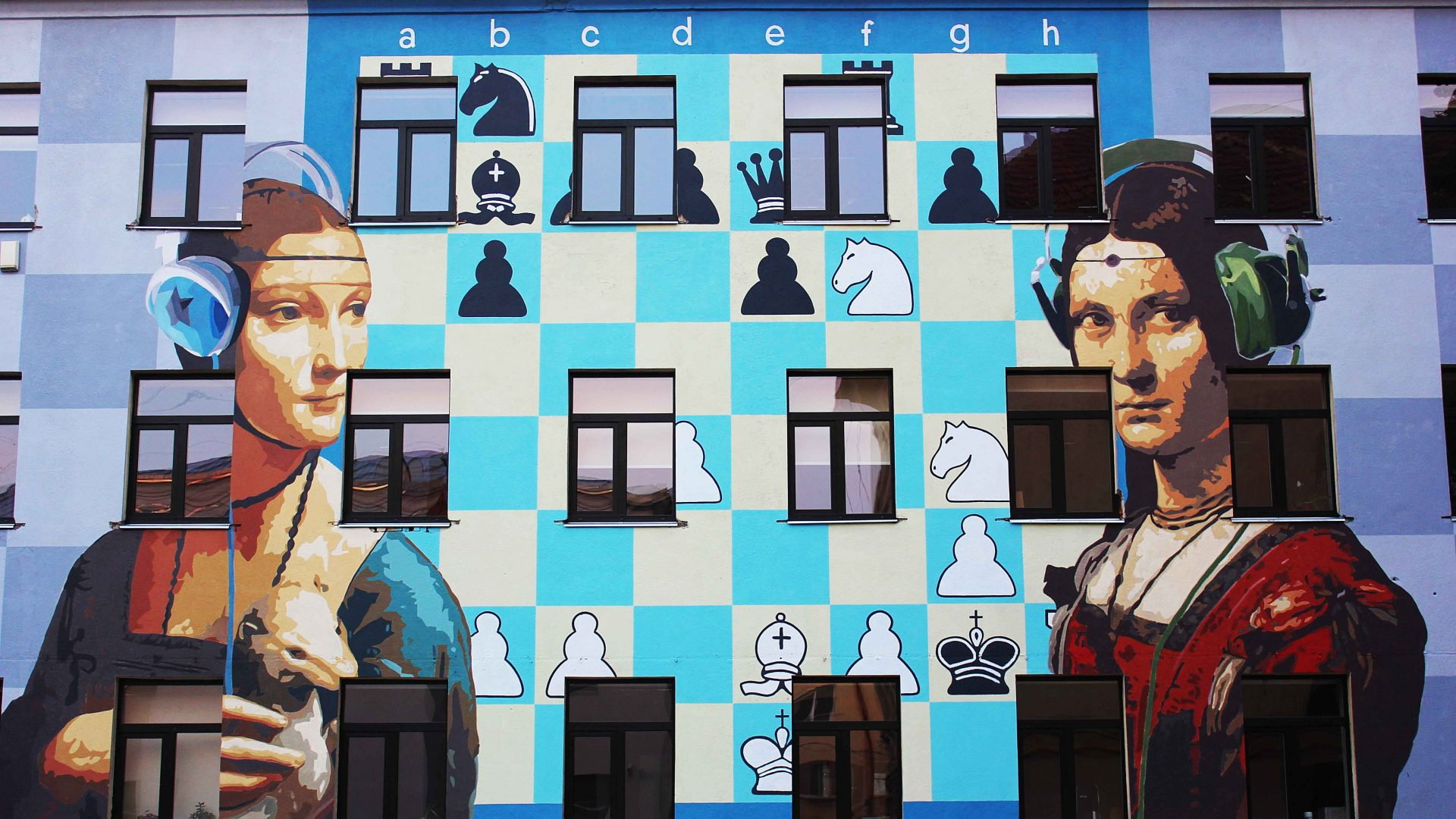 Linas Kaziulionis fonde l'arte classica con la street art