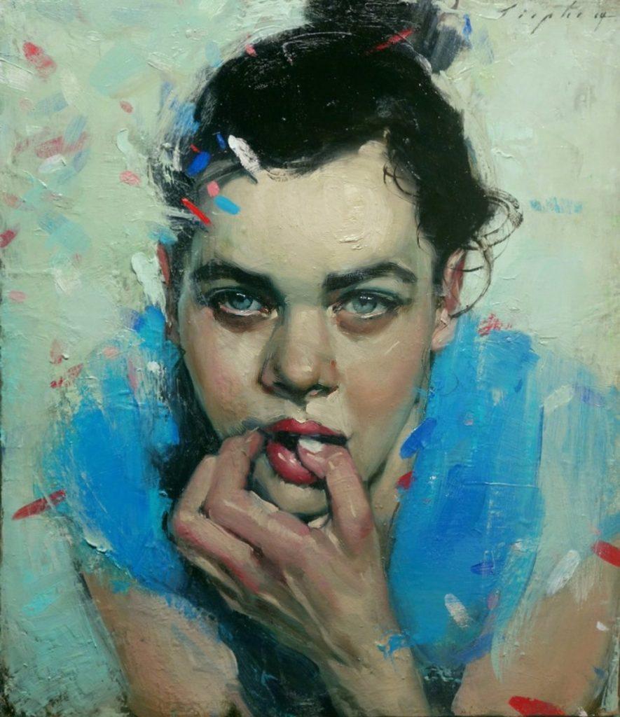 Malcolm T. Liepke, dipinge le emozioni più profonde | Collater.al