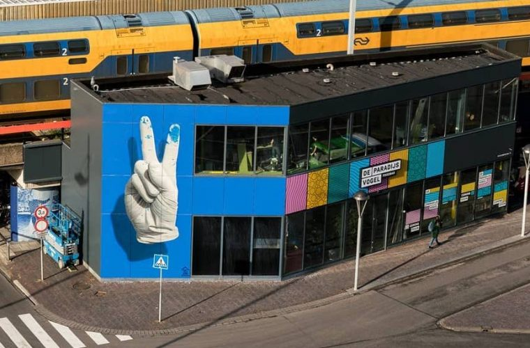Nuno Viegas, Glove II and the clean side of street art