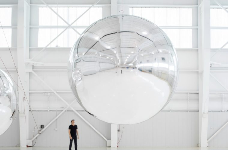 Orbital Reflector by Trevor Paglen: first sculpture in the Space