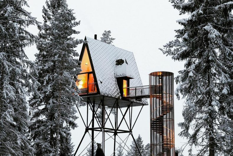 PAN Treetop Cabins, a modern cabin in the Norwegian woods