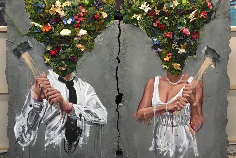 Sage Barnes, contrasting combinations in art