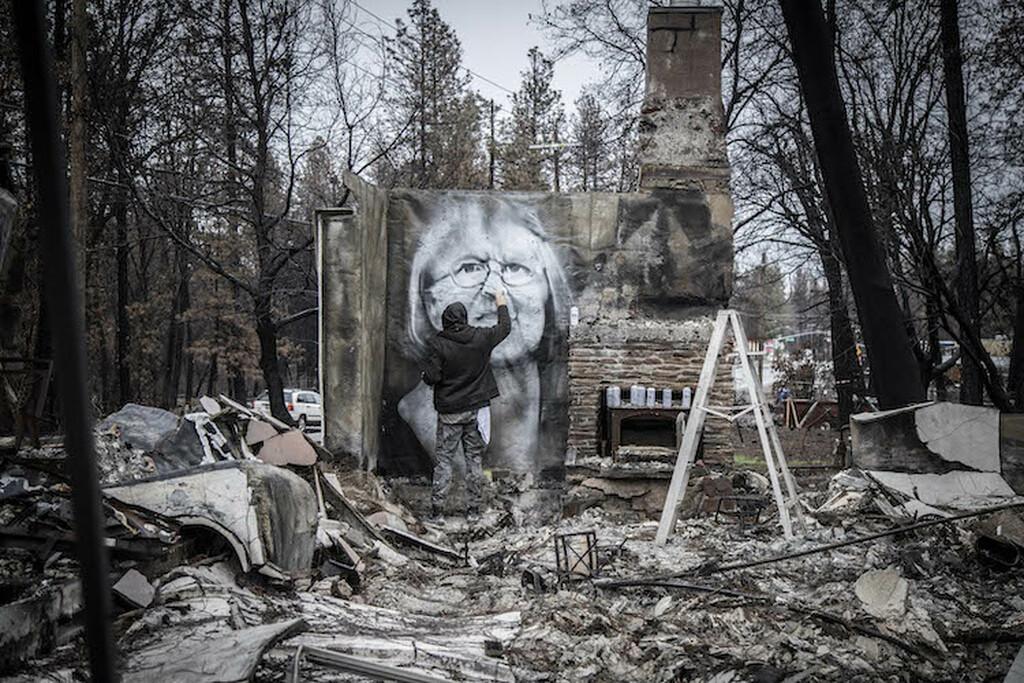 Shane Grammer, la street art che nasce dalle ceneri | Collater.al