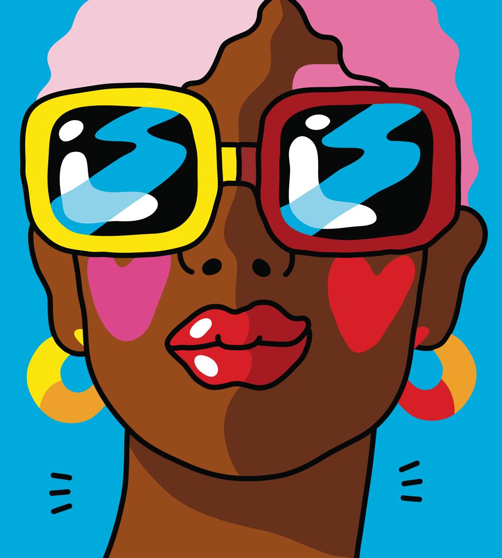 Xaviera Altena e le sue illustrazioni pop ispirate agli anni '90 | Collater.al