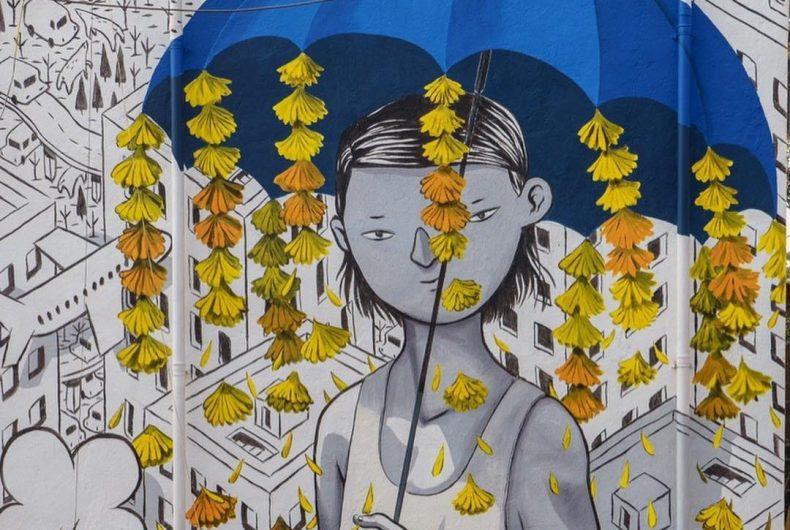 Future, il murales di Millo che porta l'arte nelle baraccopoli