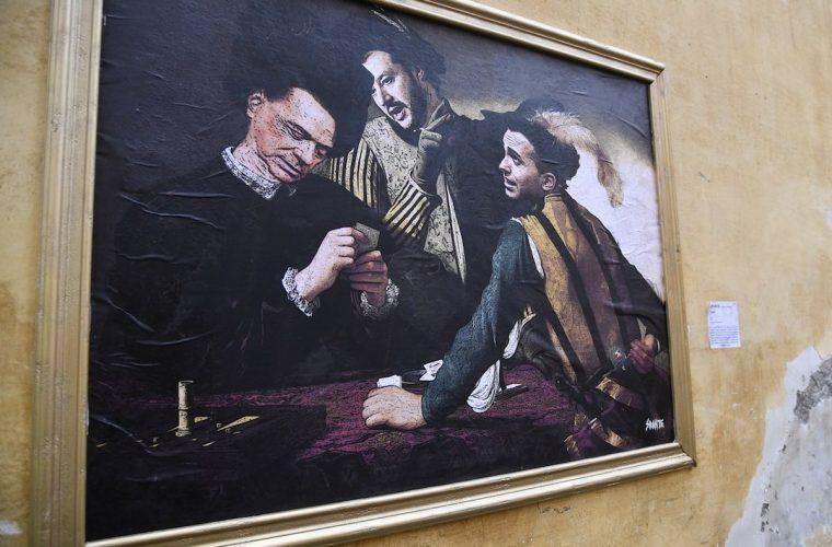 Sirante, lo street artist senza volto tutto italiano