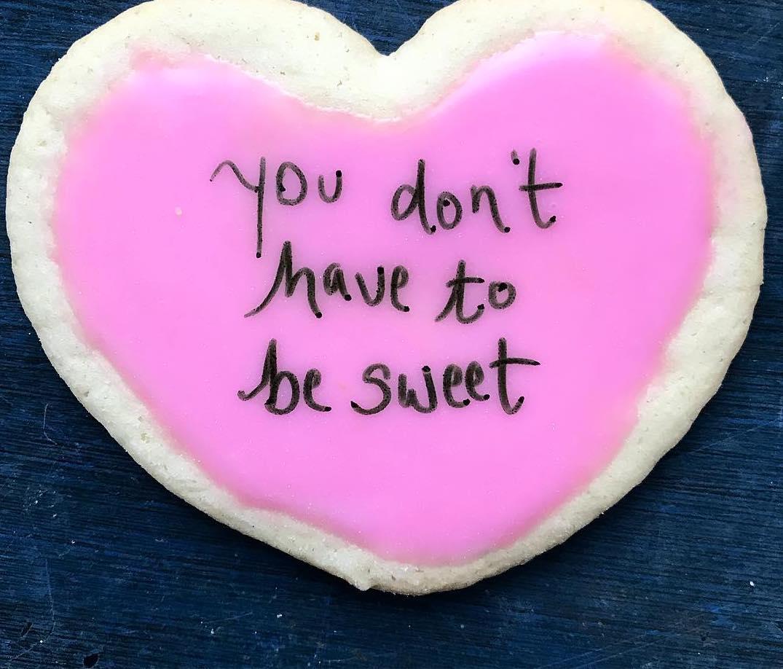 The Sweet Feminist: a feminist pastry shop on Instagram