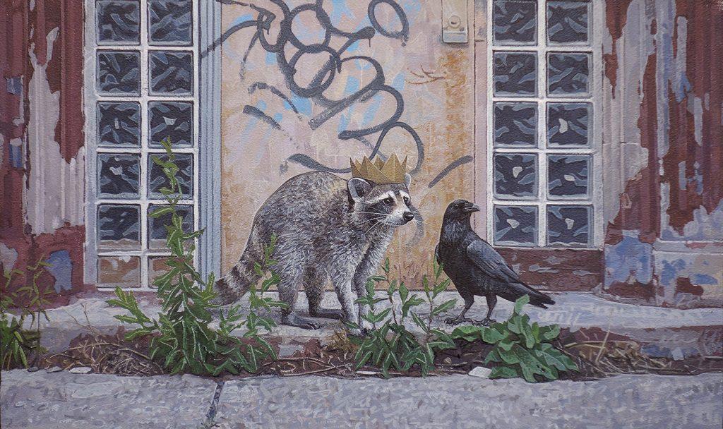 Bambini ed animali si incontrano nei quadri di Kevin Peterson | Collater.al