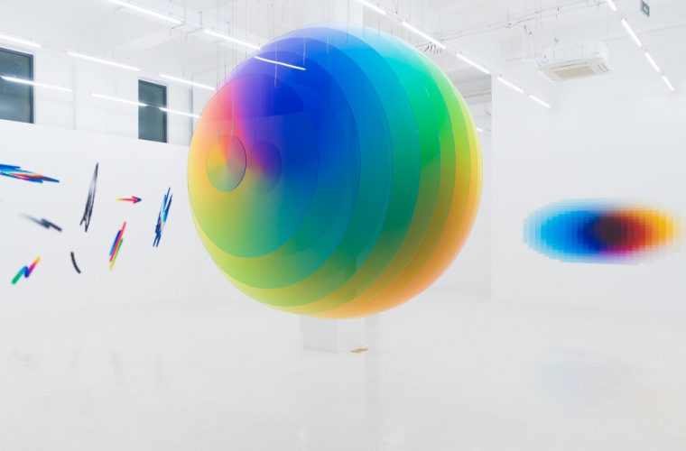 Distance, Speed, Time, Formula: Felipe Pantone a Shanghai
