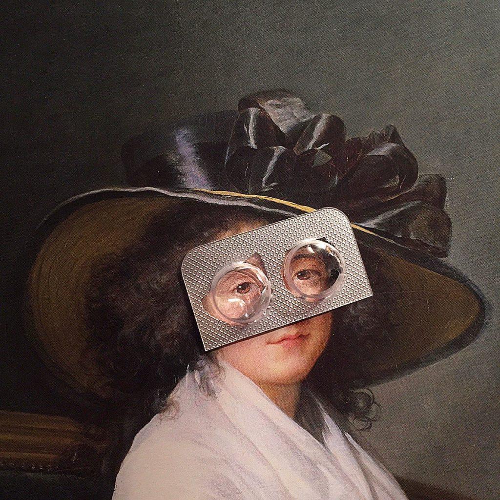 Eric Hoube, quando i dipinti classici diventano irriverenti | Collater.al