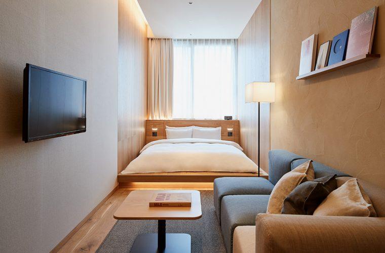 Esplora adesso il nuovo Hotel di MUJI a Ginza