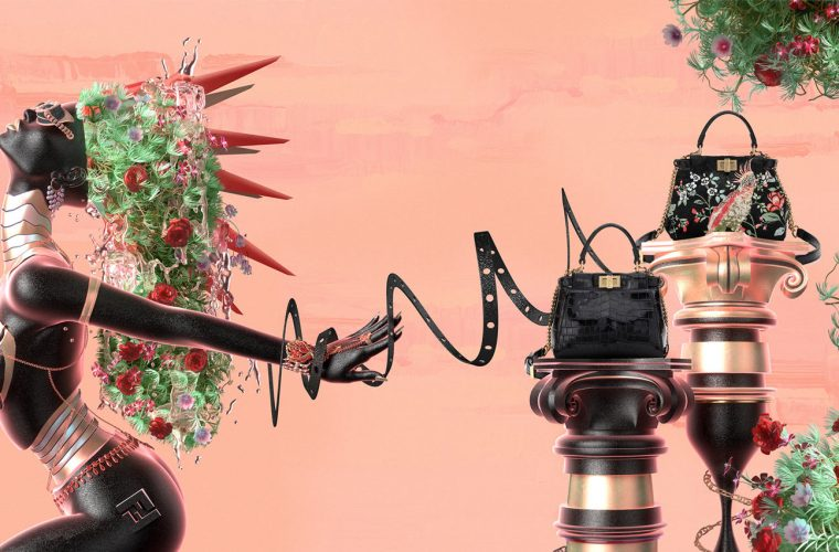 F is For Fendi, la campagna firmata Blake Kathryn