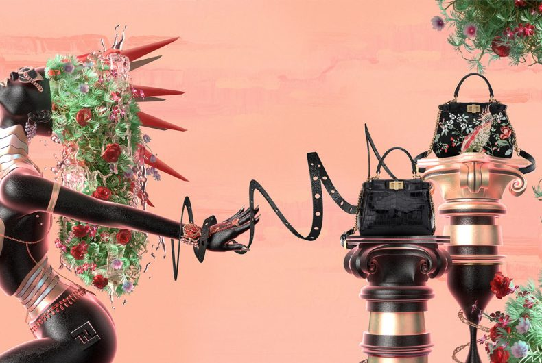 F is For Fendi, the campaign signed by Blake Kathryn