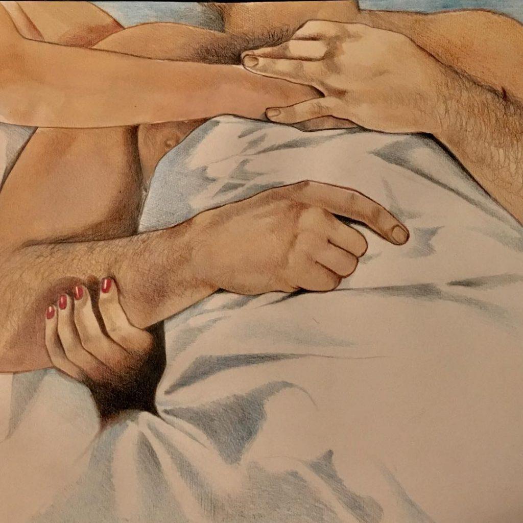 Frida Castelli racconta l'intimità nei suoi lavori NSFW   Collater.al
