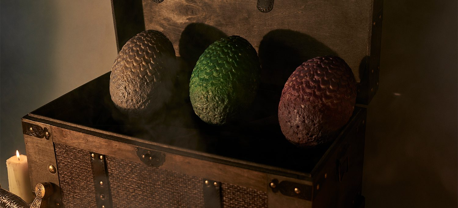 Deliveroo dragon eggs inspired by Game of Thrones