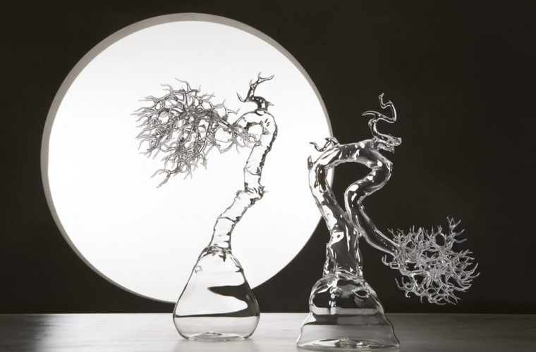 Glass Bonsai, le sculture in vetro di Simone Crestani