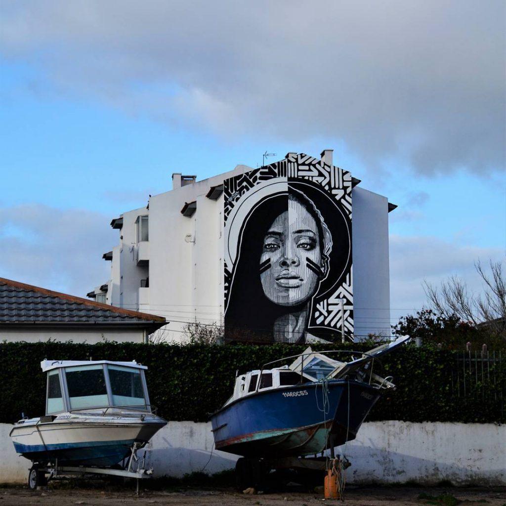 Huariu, street art tribale in bianco e nero   Collater.al