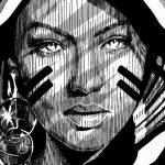 Huariu, street art tribale in bianco e nero | Collater.al 12