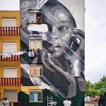 Huariu, street art tribale in bianco e nero   Collater.al 4