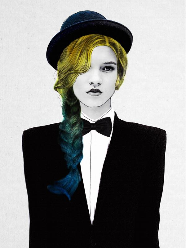 Jenny Liz Rome e le sue illustrazioni di moda | Collater.al