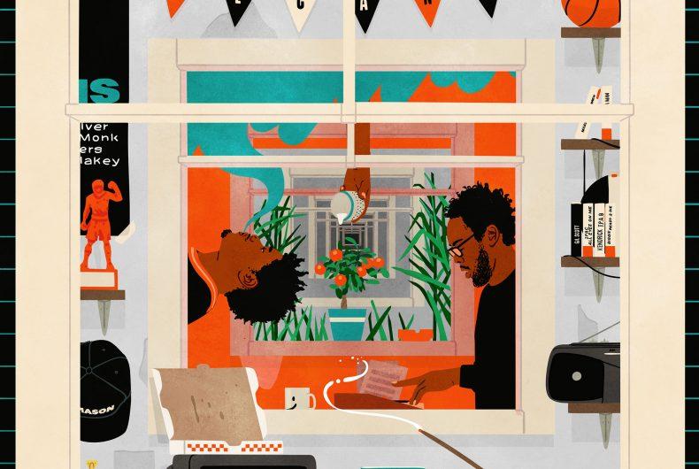 Musica e cultura pop si fondono nelle illustrazioni di Joe Prytherch
