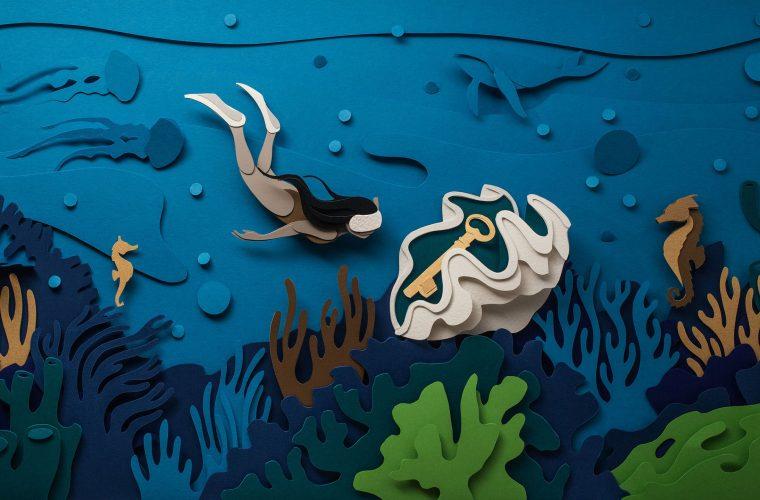 Le sculture tridimensionali di carta di John Ed De Vera
