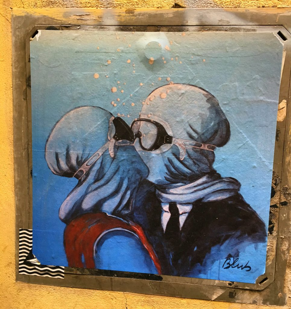 Larte sa nuotare e la street art di Bulb | Collater.al