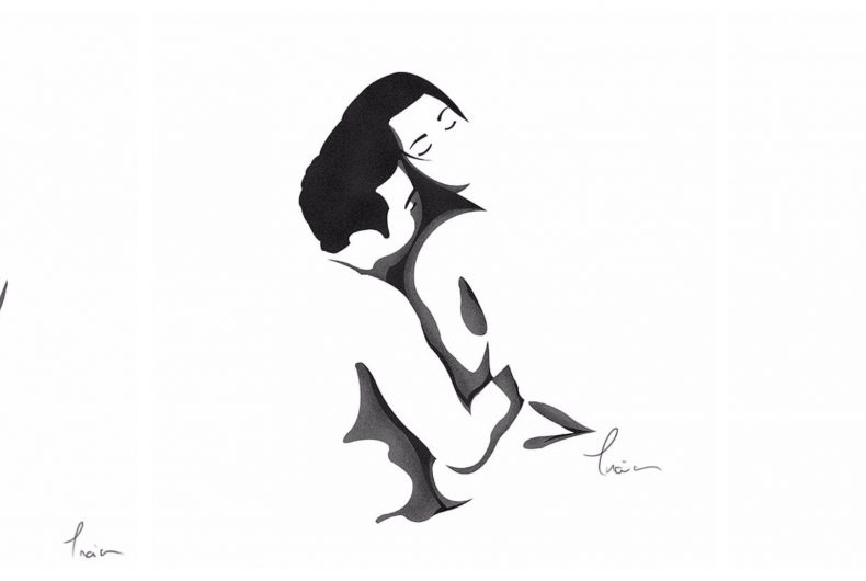 Catalin Gellen and his NSFW black and white illustrations
