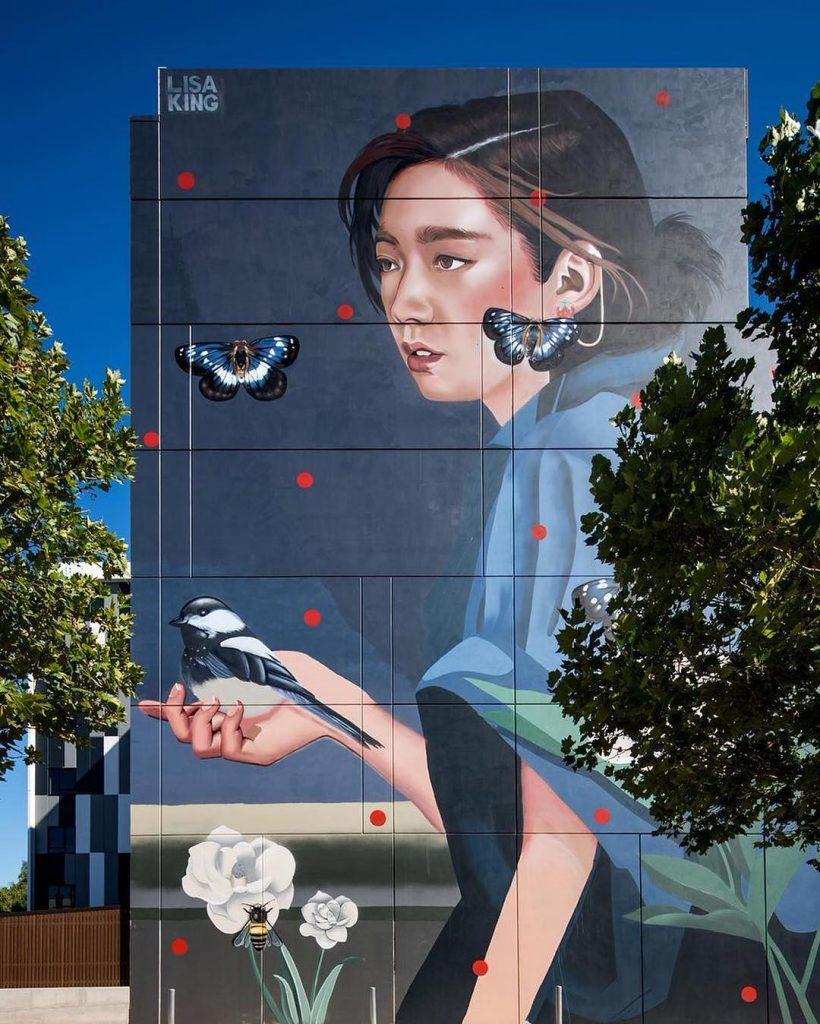 Lisa King, quando la street art diventa pop | Collater.al