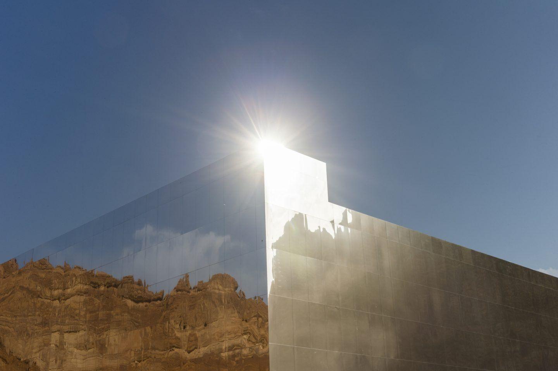 Maraya, lo specchio che riflette il deserto dell'Arabia Saudita