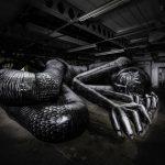 Mausoleum of the Giants, la nuova opera di Phlegm a Sheffield | Collater.al 1