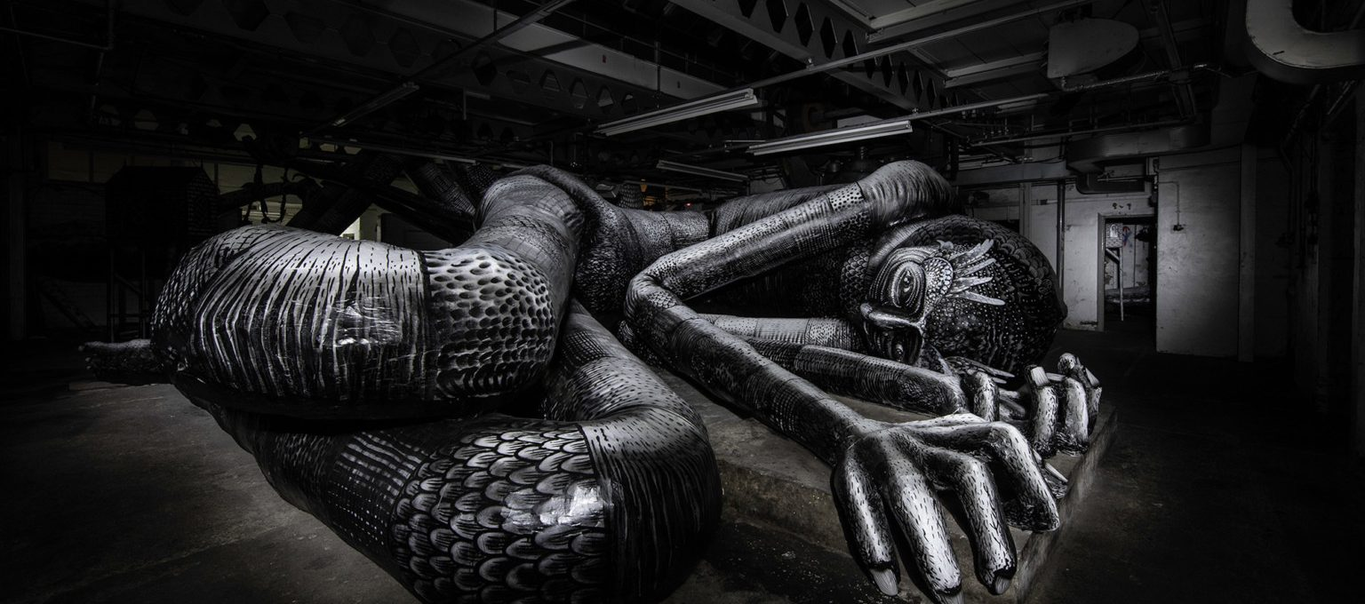 Mausoleum of the Giants, Phlegm's new work in Sheffield