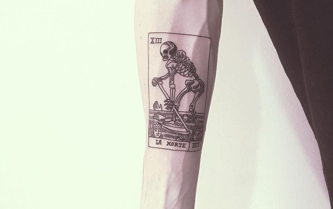 Mr Preston e i suoi tatuaggi per persone in crisi esistenziale