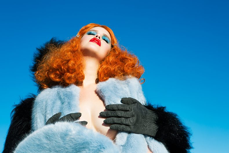 Nadia Lee Cohen's NSFW patinated fashion photographs