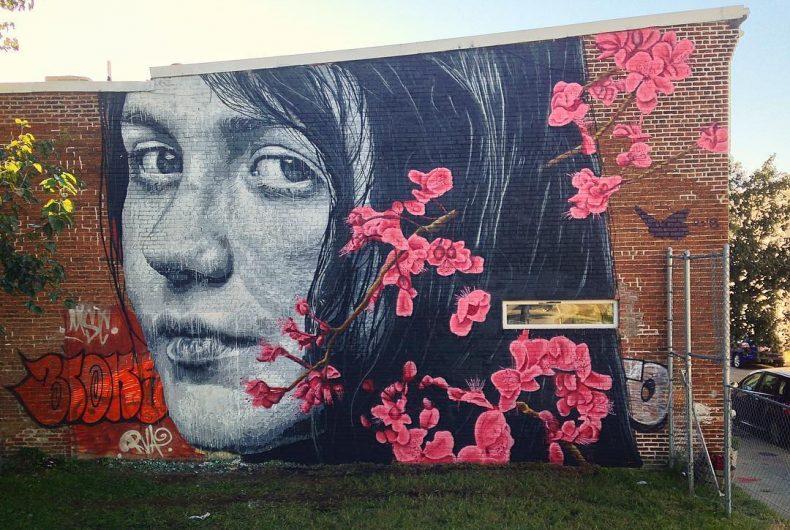 Nils Westergard makes hyperrealistic murals