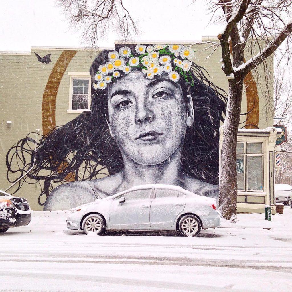 Nils Westergard realizza murales iperrealistici | Collater.al