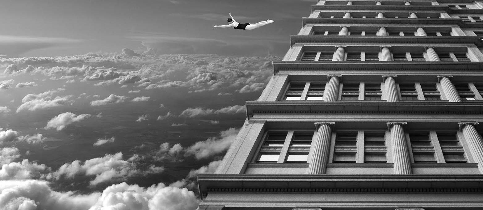 Thomas Barbèy, fotomontaggi surreali in bianco e nero